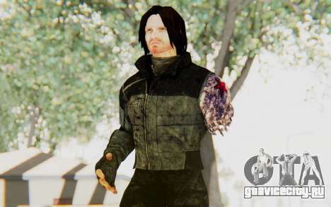 Bucky Barnes (Winter Soldier) v2 для GTA San Andreas