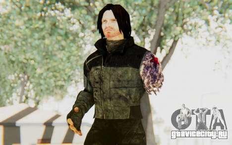 Bucky Barnes (Winter Soldier) v2 для GTA San Andreas