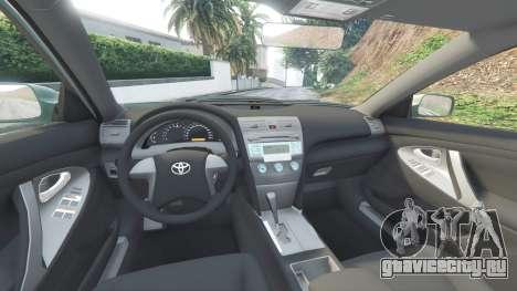 Toyota Camry V40 2008 [tuning] для GTA 5 вид спереди справа
