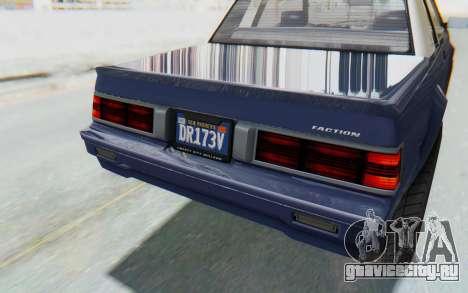 GTA 5 Willard Faction Custom Donk v3 IVF для GTA San Andreas вид сверху