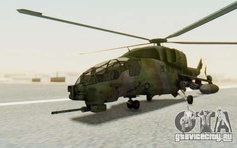 WZ-19 Attack Helicopter для GTA San Andreas вид справа