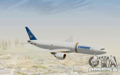 Boeing 777-200 TAROM Romania для GTA San Andreas