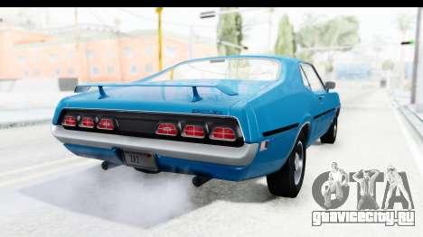 Mercury Cyclone Spoiler 1970 для GTA San Andreas вид слева
