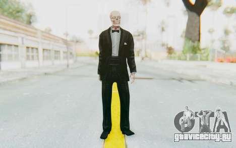 Skeleton in Tuxedo для GTA San Andreas второй скриншот