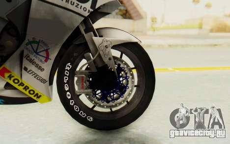 Honda RC212V для GTA San Andreas вид сзади