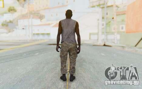 CoD MW3 Africa Militia v5 для GTA San Andreas третий скриншот