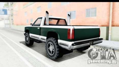 Yosemite Truck для GTA San Andreas вид слева