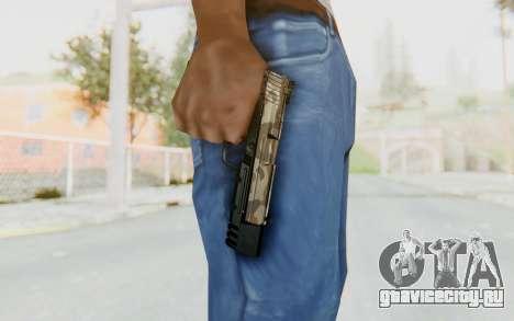 HK USP 45 Army для GTA San Andreas третий скриншот