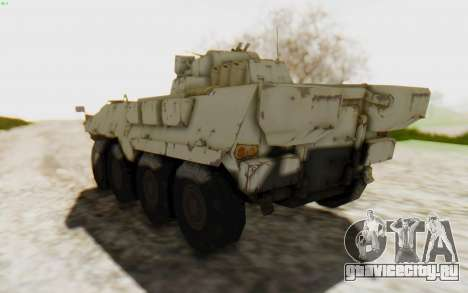 MGSV Phantom Pain STOUT IFV APC Tank v2 для GTA San Andreas вид справа