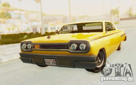 GTA 5 Declasse Voodoo PJ SA Lights для GTA San Andreas