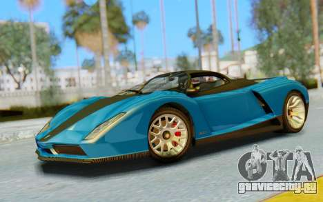 GTA 5 Grotti Cheetah SA Lights для GTA San Andreas