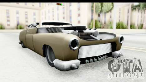 Hermes Ratrod для GTA San Andreas вид сзади слева