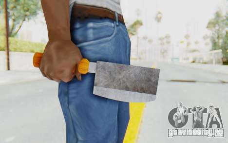 Butcher Knife для GTA San Andreas третий скриншот