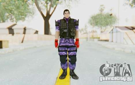 Kazuya Mishima (Ops Suit) для GTA San Andreas второй скриншот
