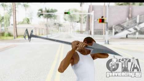 Lord Zedd Weapon для GTA San Andreas третий скриншот
