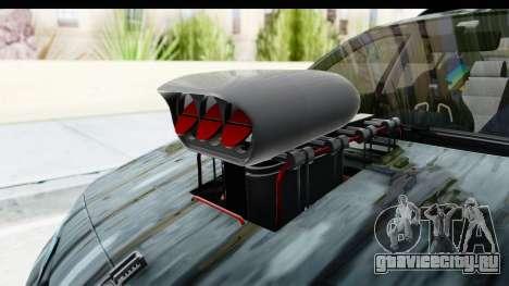 Renault Megane Sport для GTA San Andreas вид сзади
