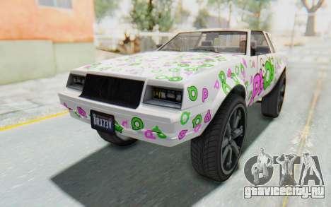 GTA 5 Willard Faction Custom Donk v2 для GTA San Andreas колёса