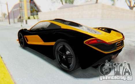 GTA 5 Progen T20 Devil PJ для GTA San Andreas колёса