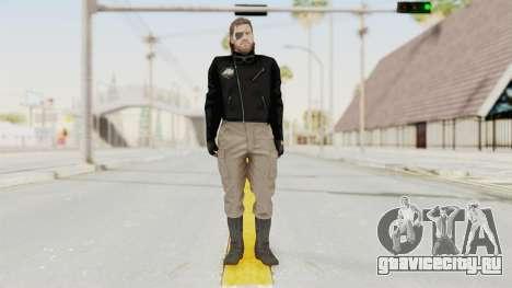 MGSV Phantom Pain BIG BOSS Leather Jacket для GTA San Andreas второй скриншот