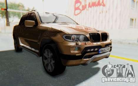 BMW X5 Pickup для GTA San Andreas вид справа