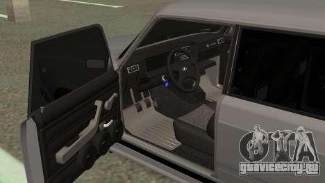 ВАЗ 2107 Дрифт для GTA San Andreas вид сзади