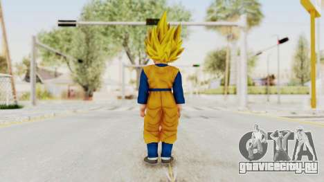 Dragon Ball Xenoverse Goten SSJ для GTA San Andreas третий скриншот