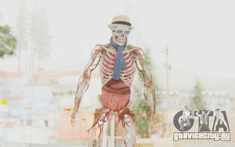 Skeleton with Hat and Glasses для GTA San Andreas