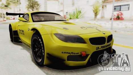 BMW Z4 Liberty Walk для GTA San Andreas вид справа