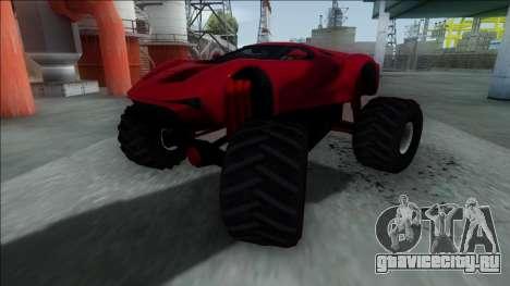GTA V Vapid FMJ Monster Truck для GTA San Andreas