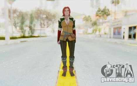 Triss Merigold для GTA San Andreas второй скриншот