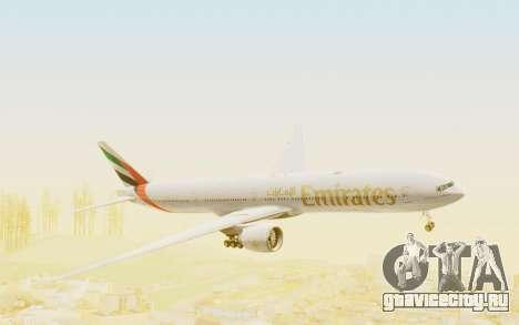Boeing 777-300ER Emirates для GTA San Andreas