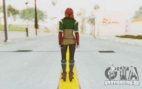 Triss Merigold для GTA San Andreas третий скриншот