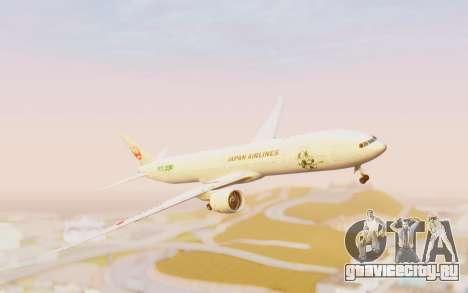 Boeing 777-300ER Japan Airlines v1 для GTA San Andreas