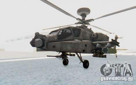 AH-64 Apache Desert для GTA San Andreas