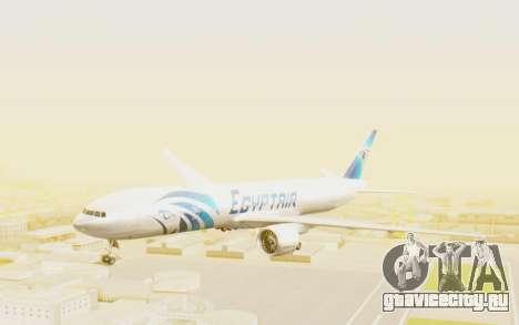 Boeing 777-300ER EgyptAir для GTA San Andreas