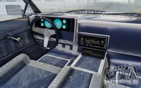 GTA 5 Willard Faction Custom Donk v3 IVF для GTA San Andreas вид изнутри