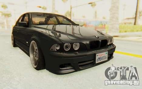 BMW M5 E39 M-Tech USDM для GTA San Andreas вид справа