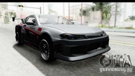 Nissan Silvia S15 Itasha для GTA San Andreas вид справа