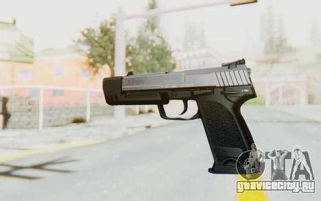 HK USP 45 Chrome для GTA San Andreas второй скриншот
