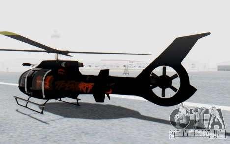 GTA 5 Maibatsu Frogger Trevor IVF для GTA San Andreas вид сзади слева