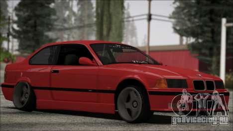 BMW E36 Stance для GTA San Andreas вид слева