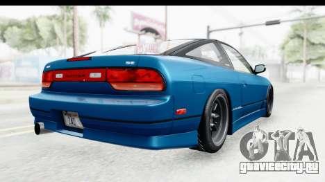 Nissan 240SX 1989 v2 для GTA San Andreas вид справа