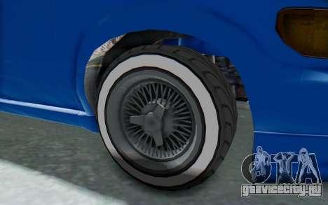 GTA 5 Vapid Minivan Custom для GTA San Andreas вид сзади