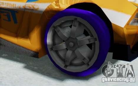 Hot Wheels AcceleRacers 4 для GTA San Andreas вид сзади