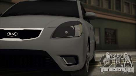 Kia Rio для GTA San Andreas вид сбоку