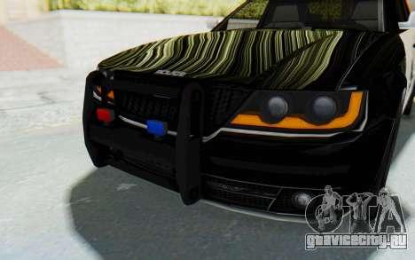 ASYM Desanne XT Pursuit v2 для GTA San Andreas вид сверху