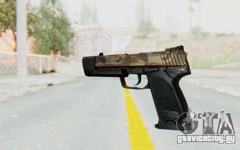 HK USP 45 Army для GTA San Andreas второй скриншот