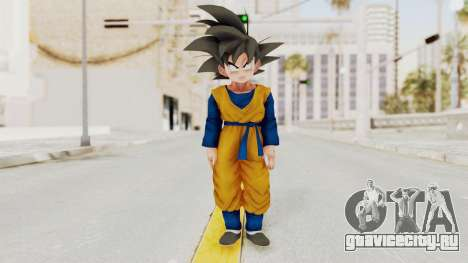 Dragon Ball Xenoverse Goten SJ для GTA San Andreas второй скриншот