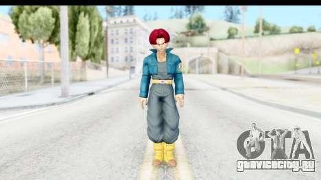 Dragon Ball Xenoverse Future Trunks SSG для GTA San Andreas второй скриншот