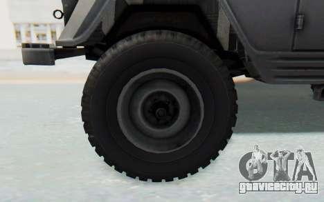УАЗ-460Б для GTA San Andreas вид сзади
